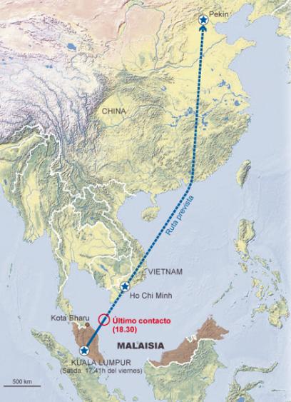 Ruta Air Malasia